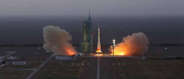 شنتشو 11 الصينية تلتحم بنجاح مع مختبر الفضاء الصينى تيانقونغ 2